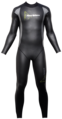 Aqua Skin Full Suit, Men - Black with Grey - XXL