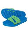 Bay Jr Sandals - Blue & Bright Green -  2