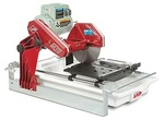 MK-100 Tile Saw with Rock Vise and Stand