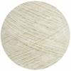 Brushed Acrylic Cone - White