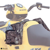 ATV Tank Saddlebags (Black)