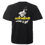 Airhead / Sportsstuff  Pump It Up T-Shirt, Black, L