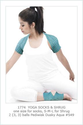 1774 Yoga Shrug & Socks picture
