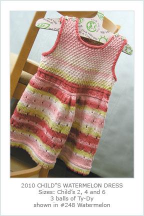 2010 Child's Watermelon Dress picture