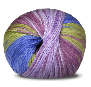 TY-DY WOOL - Blue Pansy 3672 picture