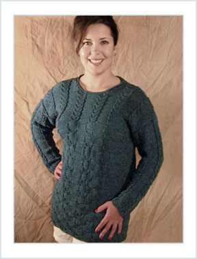1122 Woven Cable Tunic picture