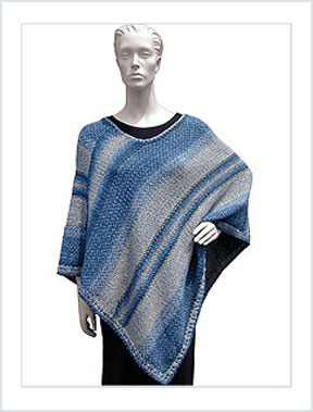 1188 Woven Poncho picture