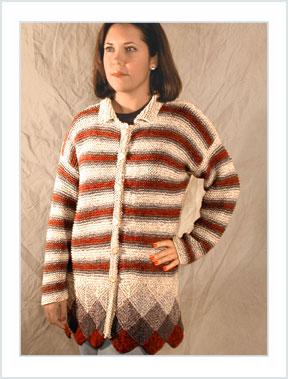 1114 Stripes & Squares Jacket picture