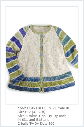 1662 Clarabelle Girl Cardie-Digital picture