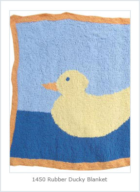 1450 Rubber Ducky Blanket-Digital picture