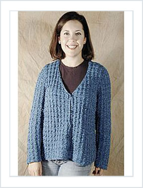 1116 Waffle Stitch Jacket picture