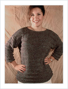 1118 Garter Stripes Pullover picture