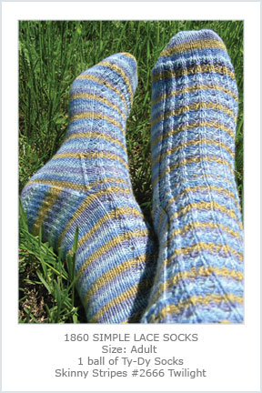 1860 Simple Lace Socks picture