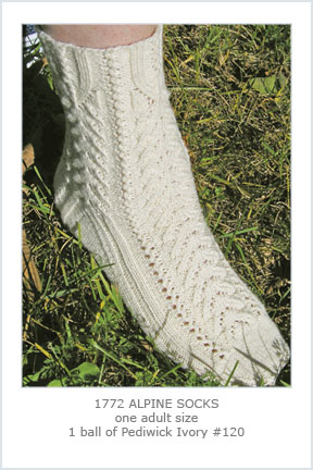 1772 Alpine Lace Socks picture