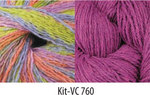 Vintage Colors Shawl Kit #760