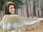 2330 Birds In Flight Shawl - Digital