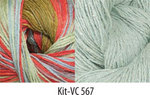 Vintage Colors Shawl Kit #567