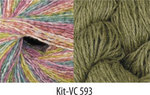 Vintage Colors Shawl Kit #593