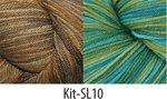 Sea Lettuce Shawl Kit #10