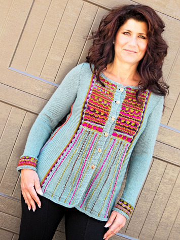 2264 Gypsy Rose Cardi-Digital picture