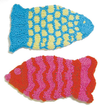 2280 Fishy Bath Mitts picture