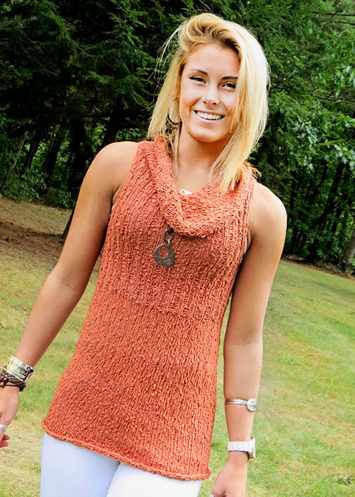2302 Nutmeg Cowl Tunic picture