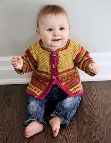 2134 Baby Garden Cardi picture
