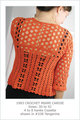 1983 Crochet Miami Cardie