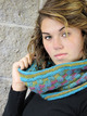 2166 Spider Plaid Cowl additional picture 1