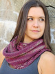 2220 Woven Flowers Infinity Scarf additional picture 1