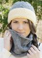 2322 Sherpa Hat and Cowl Set - Digital