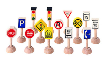 Set Of Traffic Signs & Lights picture