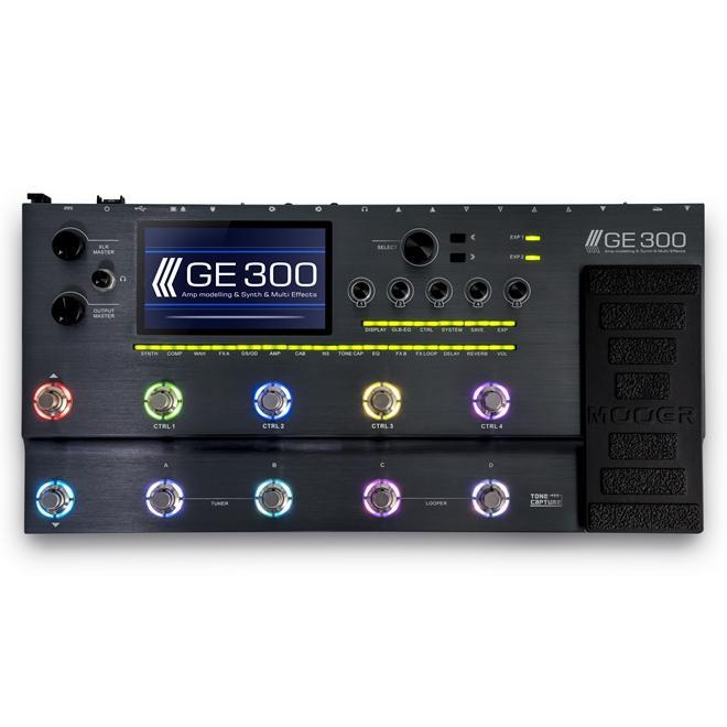 GE300 Multi Effects Processor   Mooer Audio