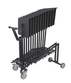 Hercules Music Stand Cart - holds up to 12 x BS200B