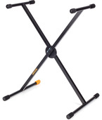 EZ-LOK single X keyboard stand, O/D: 25.4 mm