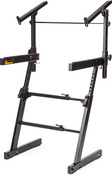 AutoLock Z keyboard stand with Tier