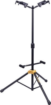 *NEW* Double Auto Grab guitar stand with foldable backrest picture