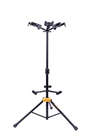 *NEW* Triple Auto Grab guitar stand with foldable backrest picture