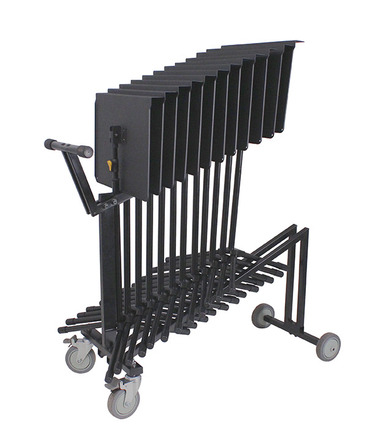 Hercules Music Stand Cart - holds up to 12 x BS200B picture
