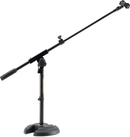 Low profile H-shaped base Mic. Stand with shorter telescopic boom picture