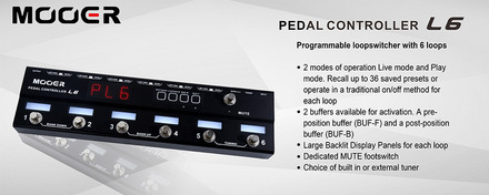 MOOER PEDAL CONTROLLER picture
