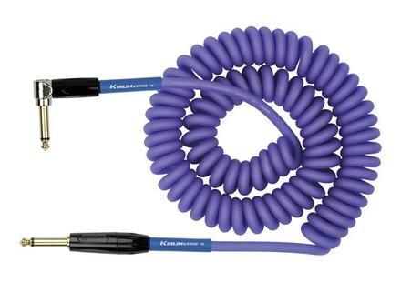 Premium Coil Cable - 30ft PURPLE picture