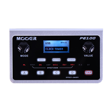 MOOER PE100 EFFECTS PROCESSOR picture
