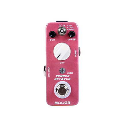 MOOER TENDER OCTAVER PEDAL MKII picture