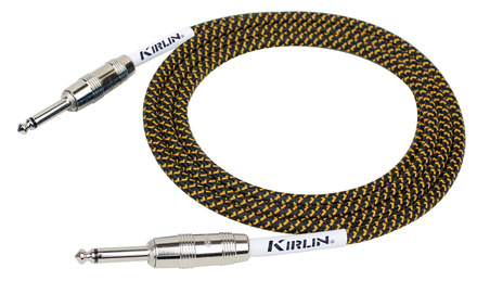 Kirlin10FT FABRIC CABLE - YELLOW picture