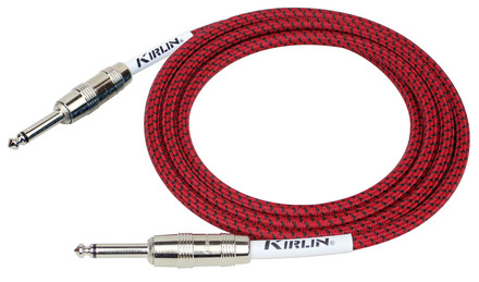 Kirlin 10FT FABRIC CABLE - RED picture