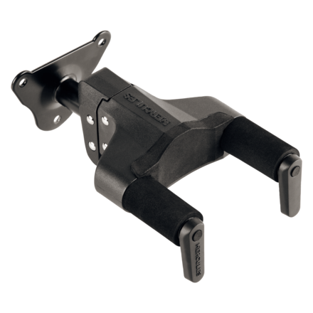Auto Grab guitar hanger for wall mounting, short arm picture