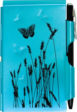 Blue Butterfly Flip Note picture