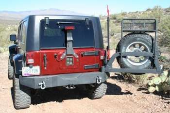 Over-Size Tire Carrier, Swing Away picture