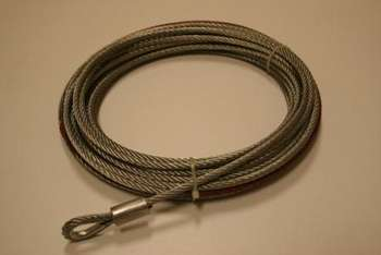 "Wire Rope, 7/32"" x 50ft (5.5mm x 15.2m) picture"